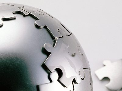 Globe-Puzzle